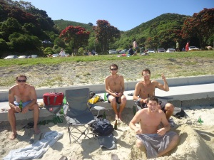 Scorching Bay, New Zealand