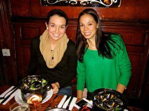 Britt and Erin